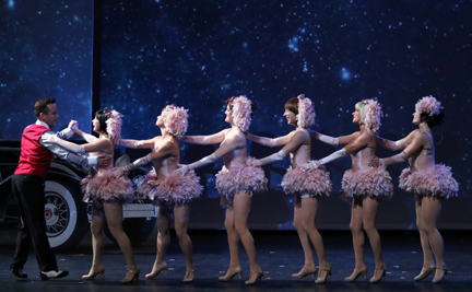 "A fantasy under starlight from ""Crazy for You"" (courtesy of the Capitol Theater)."