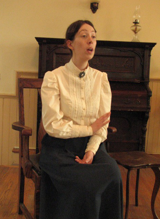 "Jennifer Carroll as Lucy Maud Montgomery in ""Maud of Leaskdale"" -- courtesy of Yvonne Carroll"