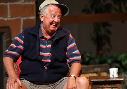 "Peter Kedwell as Charlie Martin in ""On Golden Pond"" (courtesy of the Capitol Theater)."