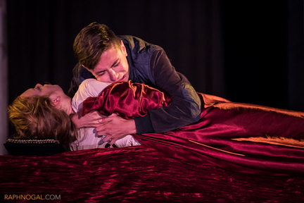 """Romeo & Juliet"" -- in mourning (photo by Raph Noral, courtesy of Guild Festival Theater)."