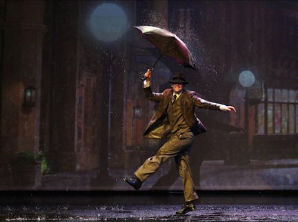 "Timothy Gledhill in ""Singin' in the Rain"" (courtesy of Capitol Theater)."