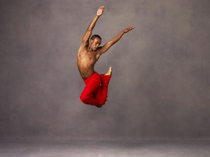 "Alvin Ailey American Dance Theater's ""Takademe"" (photo by Andrew Eccles)."