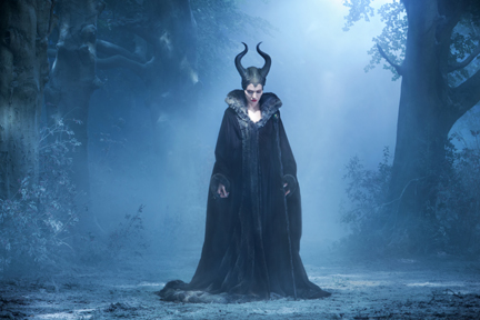 "Angelina Jolie is ""Maleficent"" - photo by Frank Connor (courtesy of Disney)"