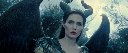 "Angelina Jolie is ""Maleficent"" (courtesy of Film Frame/Disney)"