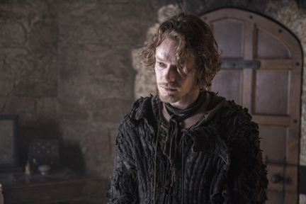 "Alfie Allen as Theon Greyjoy in ""Game of Thrones"" Season 5 (courtesy of HBO)."